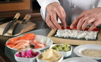 Make your own sushis